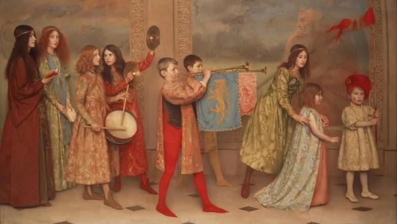 Придворное детство в средневековье