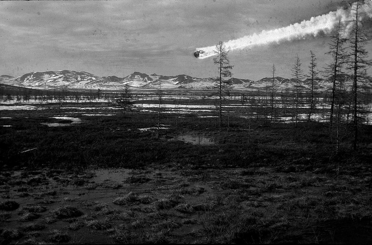 Тунгусский метеорит, документальный кадр
