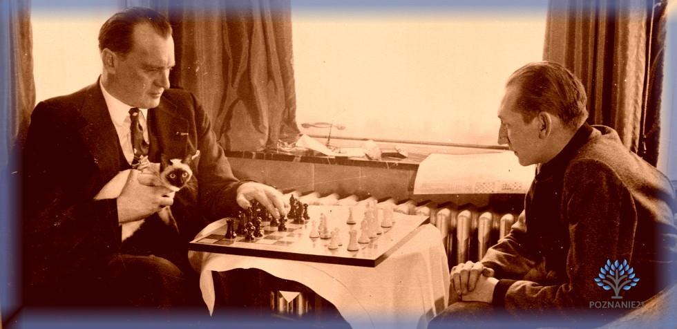 Шахматная партия с Александром Алехиным