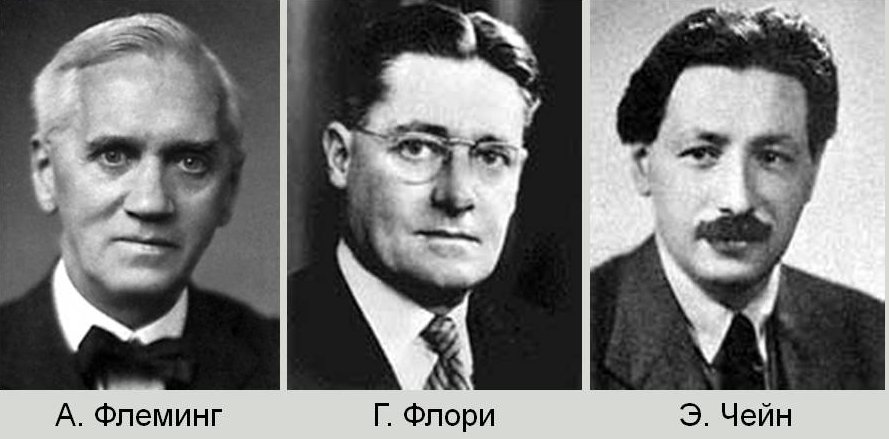 Изобретатели пенициллина