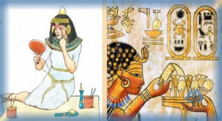 Нанесение макияжа и медицинские исследования в Древнем Египте