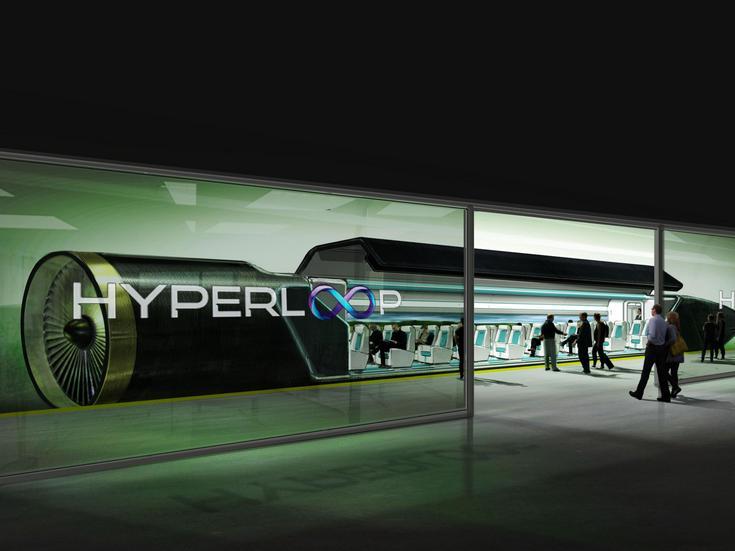 Поезд Hyperloop