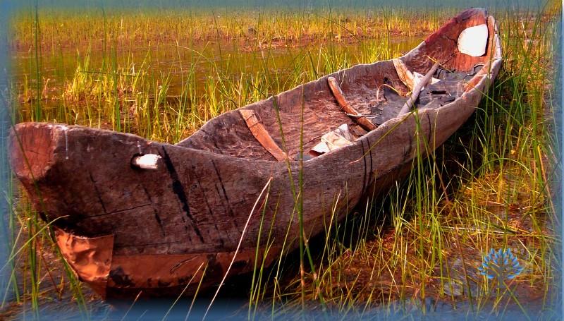 Лодка-долблёнка