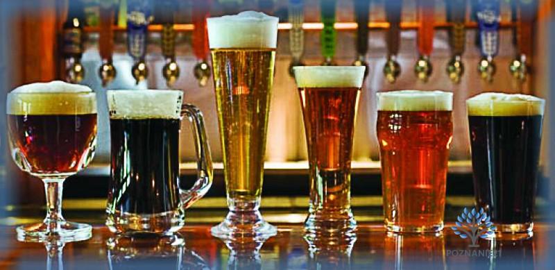 Пиво в подходящей посуде