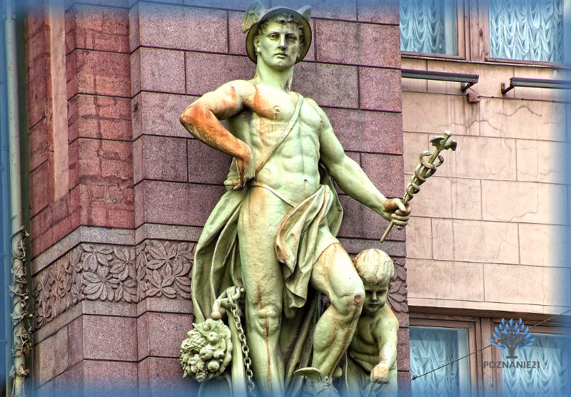 Бог Меркурий, статуя