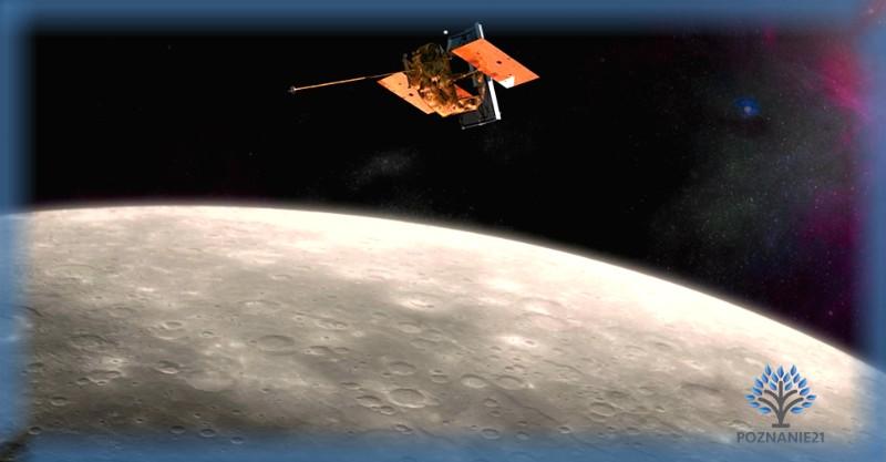 Космическая автоматическая станция на орбите Меркурия