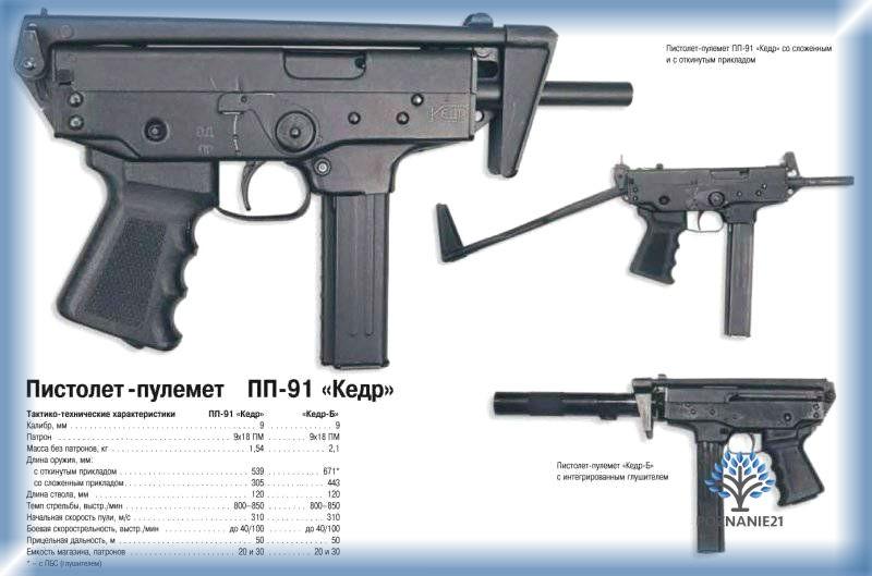 "ПП-91 ""Кедр"""