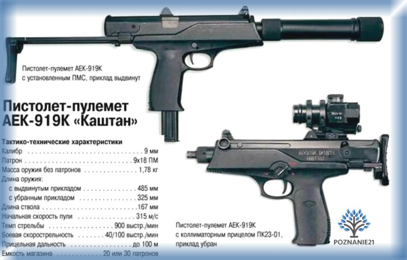 "ПП АЕК-919 ""Каштан"""