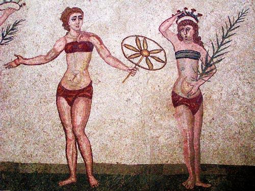 древние лифчики