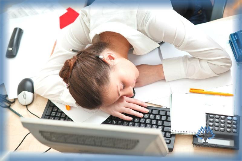 Нормальное начало рабочего дня здорового человека