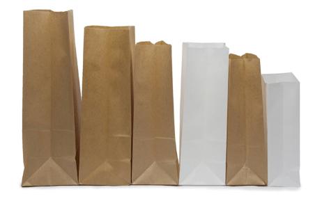 машину, изготавливающую бумажные пакеты с плоским дном