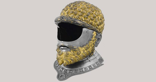 Бородатый шлем