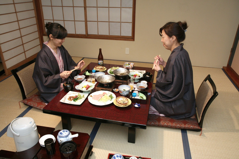 традиционная трапеза в Японии