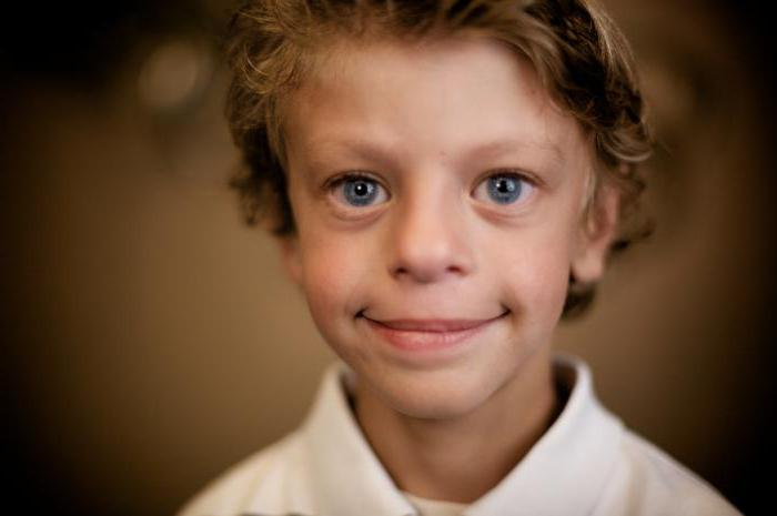 ребенок с синдромом уильямса