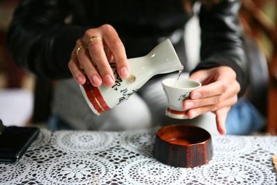 Разлив саке