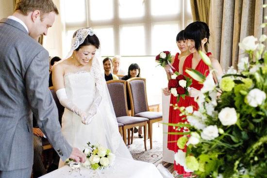 Европейская свадьба в Японии