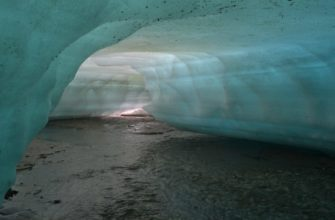 Подледный лабиринт в леднике Булуус
