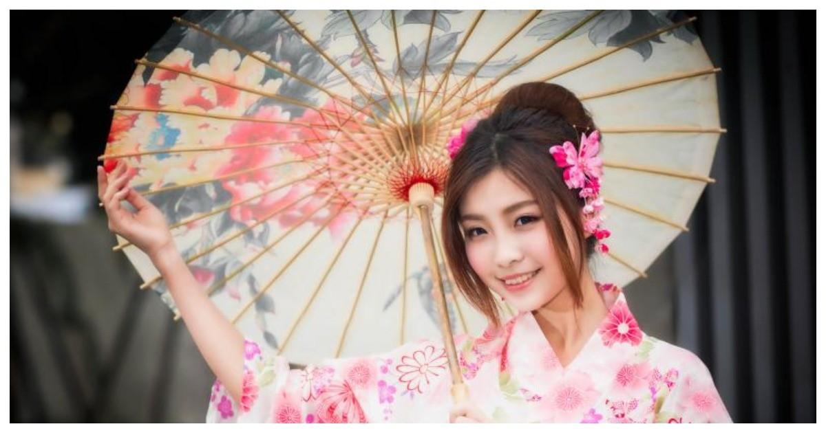 улыбающаяся японка