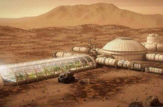 Один из проектов колонии на Марсе