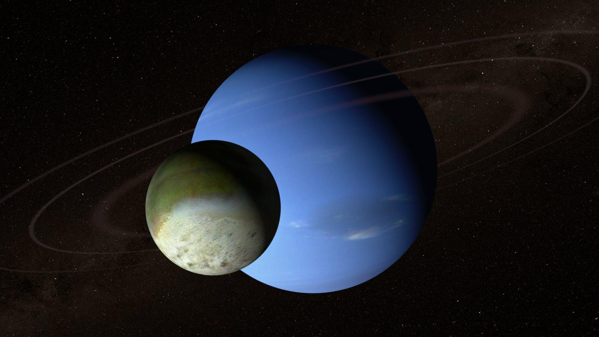 Тоже Нептун и Тритон