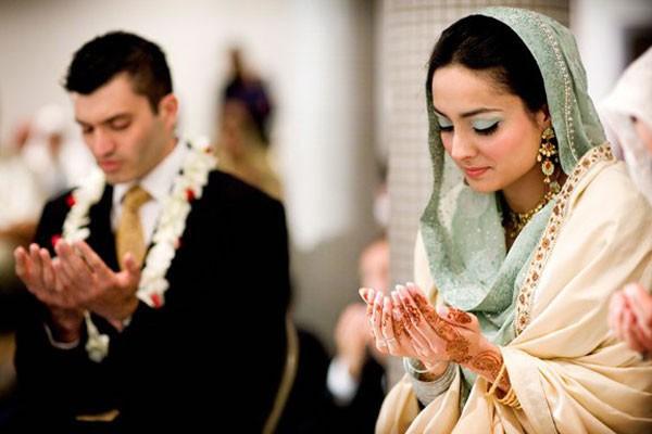 Чтение церемониальной молитвы