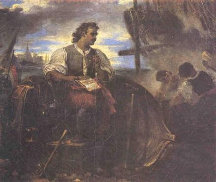 Петр первый в Голландии