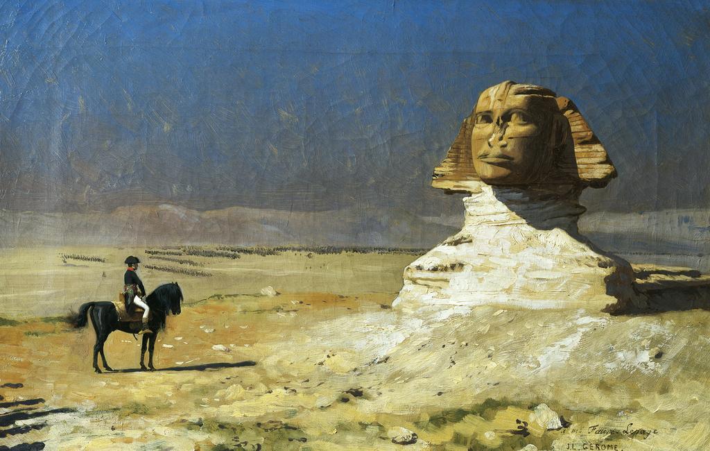 Наполеон и сфинкс