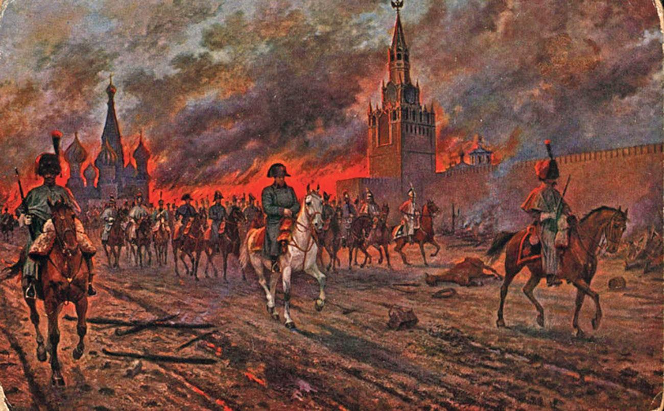 Наполеон в Москве