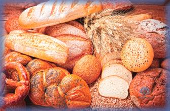 Хлеб разных сортов