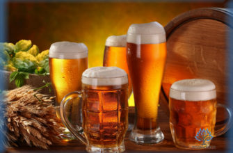 Пиво, зерно и хмель