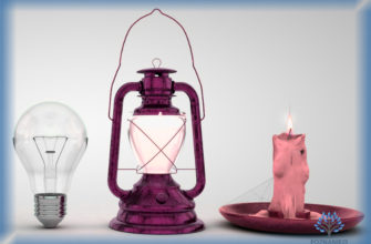 Лампа накаливания, фонарь, свеча